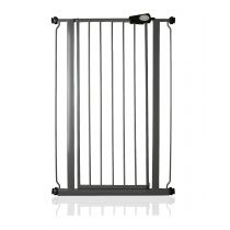 Safetots Extra Tall Pressure Fit Gate Slate Grey 68.5cm to 75cm