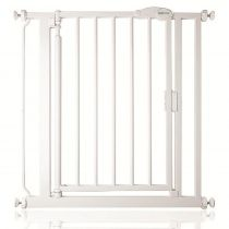 Safetots Self Closing Gate White Narrow 68.5cm - 75cm