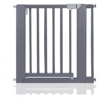 Safetots Wooden Pressure Fit  Gate Grey 81cm-89cm