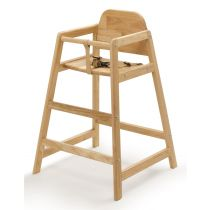 Safetots Simply Stackable High Chair Natural