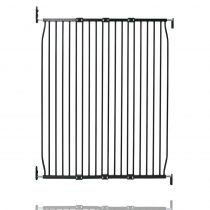 Safetots Extra Tall Eco Screw Fit Baby Gate Black 110cm - 120cm