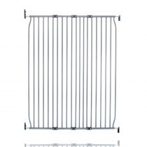 Safetots Extra Tall Eco Screw Fit Baby Gate Grey 110cm - 120cm