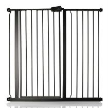 Safetots Extra Tall Pressure Fit Gate Matt Black 107.4cm - 115cm