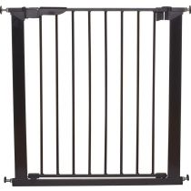 BabyDan Premier True Pressure Fit Gate Black 73.5 - 79.6cm