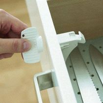 BabyDan Magnetic Drawer and Cupboard 1 Lock and 1 Key Set