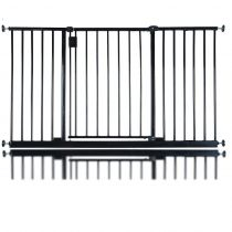Bettacare Extra Wide Hallway Pet Gate Black 134.2cm - 140.2cm