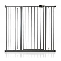 Safetots Extra Tall Pressure Fit Gate Slate Grey 120.3cm - 127.9cm
