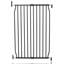 Safetots Extra Tall Eco Screw Fit Baby Gate Black 70cm - 80cm
