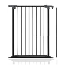 Safetots Extra Tall Multi Panel Fire Surround Black Gate Opening Panel 72cm