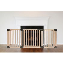 Safetots Wooden Multi Panel Fire Surround 89D x 200W CM