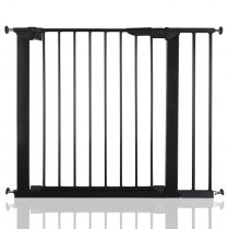 Safetots No Screw Gate Black 86cm - 93.3cm