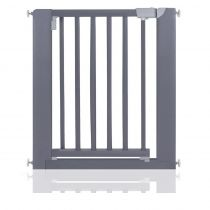 Safetots Wooden Pressure Fit  Gate Grey 74cm-81cm