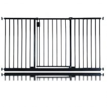 Safetots Extra Wide Hallway Gate Black 146.6cm - 152.6cm