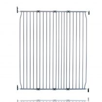 Safetots Extra Tall Eco Screw Fit Baby Gate Grey 130cm - 140cm