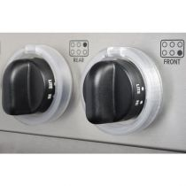 KidKusion Clearly Safe Stove Knobs Locks Pack of 5
