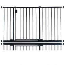 Safetots Extra Wide Hallway Gate Black 121.8cm - 127.8cm