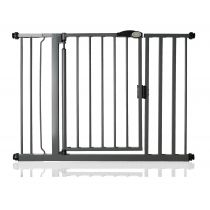 Safetots Self Closing Gate Slate Grey 103.8cm - 110.8cm