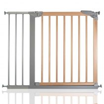 Safetots Wide Walkthrough Wooden Gate 88.4cm - 95.6cm