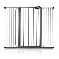 Safetots Extra Tall Pressure Fit Gate Slate Grey 133.2cm - 140.8cm
