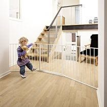 BabyDan Configure Gate Large White