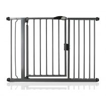 Safetots Self Closing Gate Slate Grey 118.2cm - 125.2cm