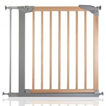 Safetots Wide Walkthrough Wooden Gate 75.4cm - 82.6cm