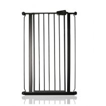 Safetots Extra Tall Pressure Fit Gate Matt Black 68.5cm to 75cm