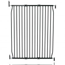 Safetots Extra Tall Eco Screw Fit Baby Gate Black 100cm - 110cm
