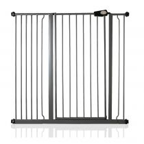 Safetots Extra Tall Pressure Fit Gate Slate Grey 113.8cm - 121.4cm