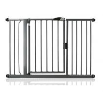 Safetots Self Closing Gate Slate Grey 125.4cm - 132.4cm