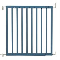 Safetots Chunky Wooden Screw Fit Gate Azure Blue 63.5cm-105.5cm