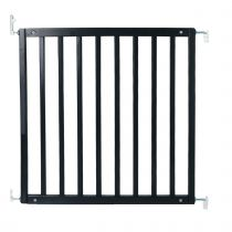Safetots Simply Secure Wooden Gate Black 72cm- 79cm