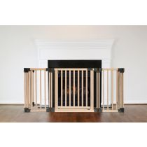 Safetots Wooden Multi Panel Fire Surround 89D x 120W CM