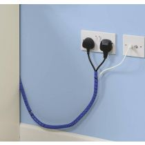 Safetots Cable Tidy Wrap Blue