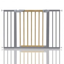 Safetots Beechwood and Metal Pressure Fit Gate 109.7cm - 117.1cm