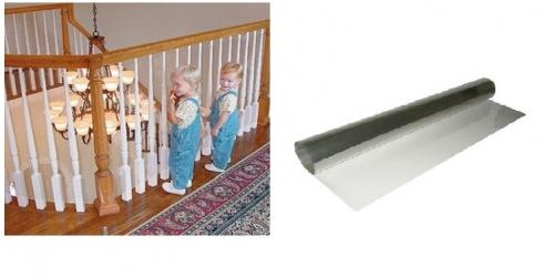 HOW TO BABYPROOF YOUR STAIR RAILING